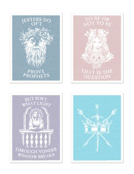 Shakespeare Litographs by mscorley