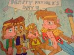 Monkey Khan's Father's Day by Sonic-fan17