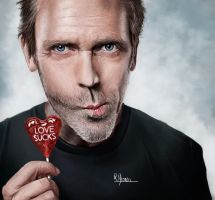 Dr House Speed Painting by patrickMorais