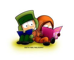 South Park Kyle and Kenny by SouthParkPhilosopher