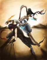 Makorra crossover, Prince of Persia. by ex0tique