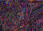 Psychedlic abstract 296 by CHoare