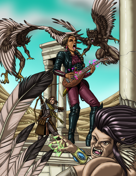 Talented Bard Cover by ProdigyDuck