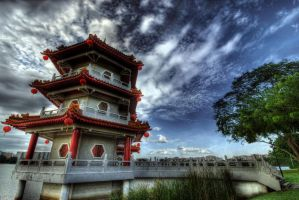 Chinese Garden by mayonzz