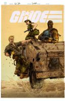 G.I Joe PinUp colored by milxart