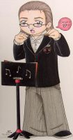 B Flat Concert Scale by fanchielover15