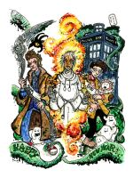 The Two Doctors 2010 by Clone-Artist