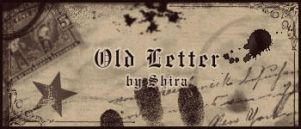 Old Letter by Shiranui