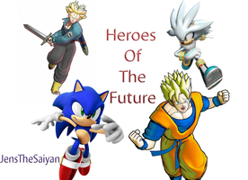 Heroes Of The Future Wallpaper by JensTheSaiyan