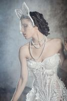 White bride by segnisullapelle