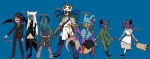 Halloween characters 2 by TOUSEI