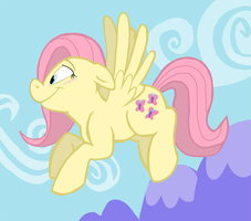Fluttershy Flight by sophiecabra