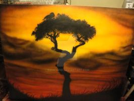 African Sunset by BankyOne