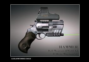 Hammer RM544 A3 by BlackDonner