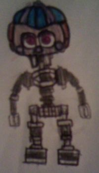 JJ (Pre-FNaFW guess) by FreddleFrooby