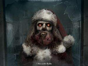 Zombie Claus? by shiprock