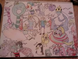 Adventure Time Collage by chaiiro03
