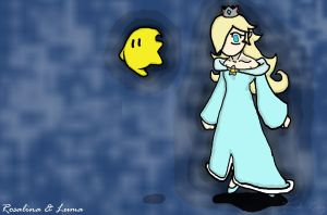 Rosalina and Luma by 3Dogz