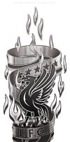 Liverpool FC Arm/leg Tattoo design concept by kitster29