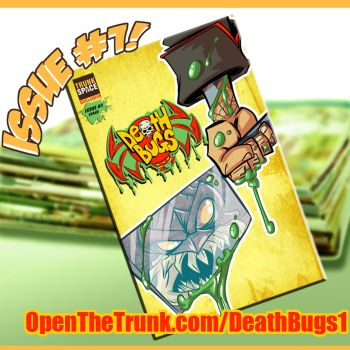 Death Bugs issue 1 first installment live by DustinEvans