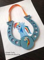 My Little Pony MLP - Rainbow Dash Magic Horseshoe by ChinookCrafts