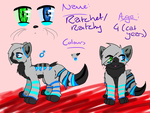 Ratchy The Cat Ref Sheet by LastbutnotAlise