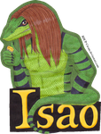 Isao Badge by RHCP-Cream