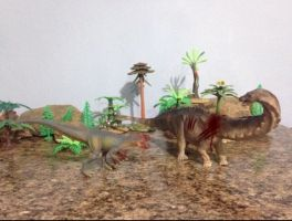 Sauropod Hunter of America 2 by zoome3