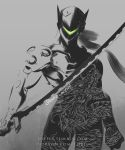 Inktober Genji the Dragon by luffie