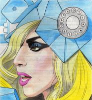 Lady Gaga Telephone by MADONNALILY