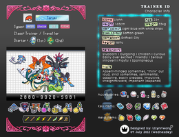 [Terumi] - Lilynn's Trainer Card by LilynnWong
