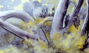 The Forest Before Isengard by peet