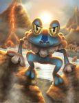 Forging Froakie by Hikara-Productions