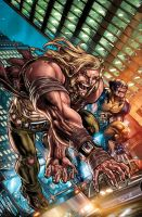 Weapon X: First Class 1 by ulises-arreola