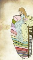 Princess and the Pea by foreverbeginstoday