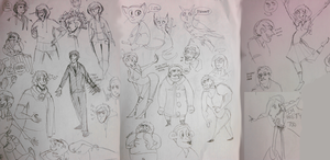 doodles from russian cinema by antiphile