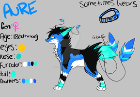 Aure ref by ZeroPercentLove