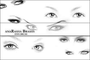 eyes brush by anaRasha-stock