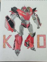 Transformers Prime Knock Out Finished by ElizabethPrime