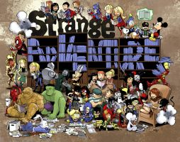 Strange Adventures by caanantheartboy