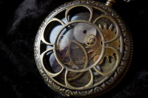Steampunk Pocket Watch by OcularFracture