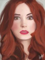 Amy Pond by IanaAlves