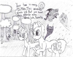 The Doctor and Blossomforth by uhnevermind