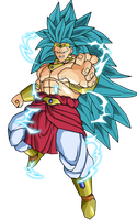 Broly controlled SSJ3 by RobertoVile