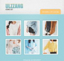 Ulzzang icons set 33 40 pic. by Minyoung-ssi