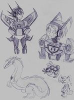 Andy's Omnitrix aliens so far... by dreamer45