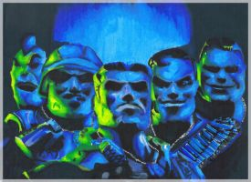 EN GARDE Small Soldiers xD by Andro-guys