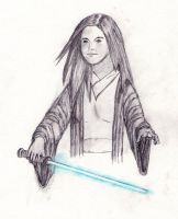 Lara Jedi by DM-Mike
