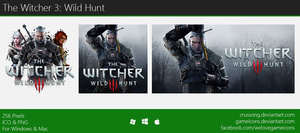 The Witcher 3: Wild Hunt - Icon 3 by Crussong