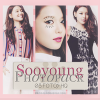 Photopack Sooyoung- SNSD 053 by DiamondPhotopacks